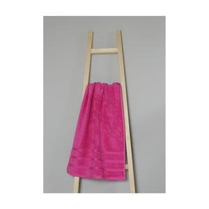 Ružový bavlnený uterák My Home Plus Spa, 50×90 cm