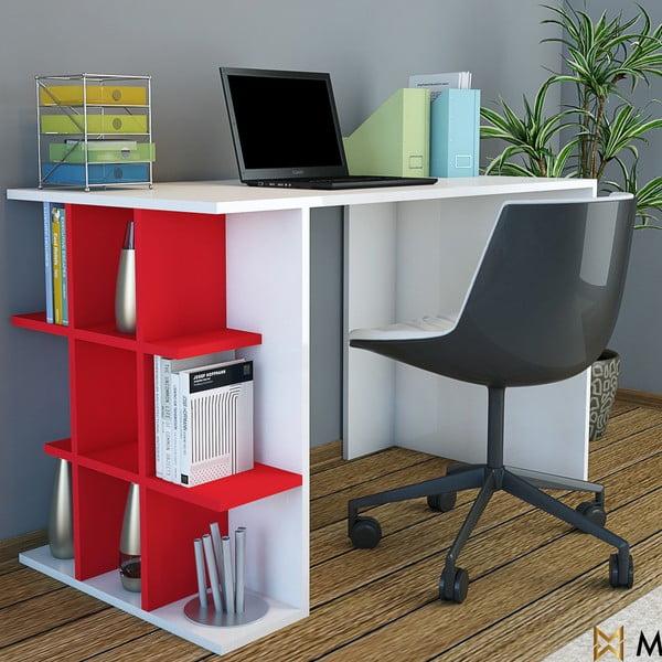 Pracovný stôl Minar Plus Red