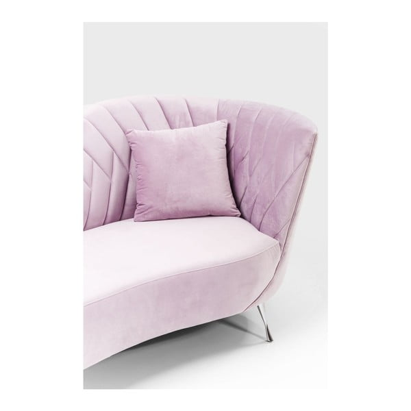 Ružová dvojmiestna pohovka Kare Design Cabaret
