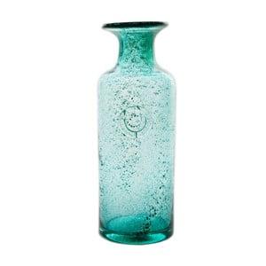 Sklenená karafa/váza Carage, tyrkysová