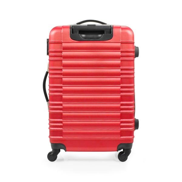 Sada 3 kufrov Gull, červená
