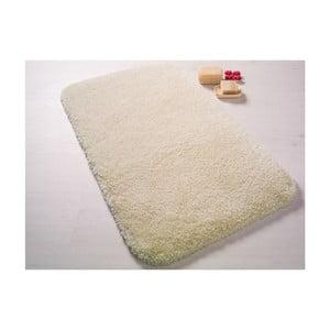 Krémová predložka do kúpeľne Confetti Bathmats Miami, 55x57cm