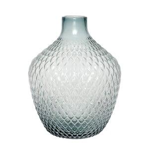 Sklenená váza Hübsch Lajulo, výška 38 cm
