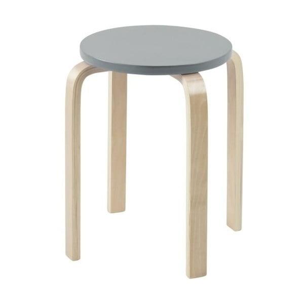 Odkladací stolík Emba, šedý