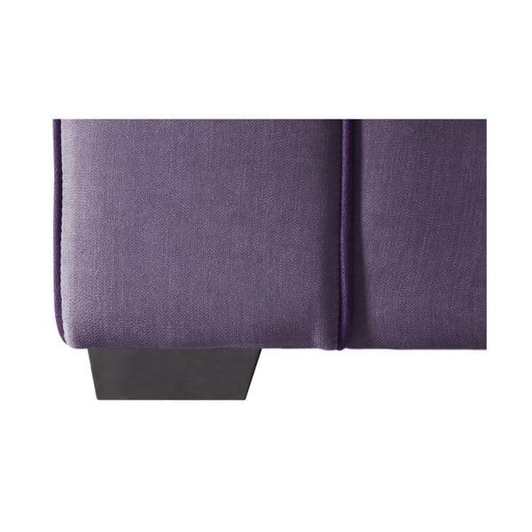 Trojdielna sedacia súpravaJalouse Maison Serena, fialová