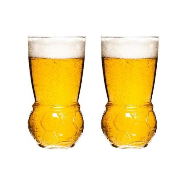 Sada 2 pohárov na pivo Sagaform Football