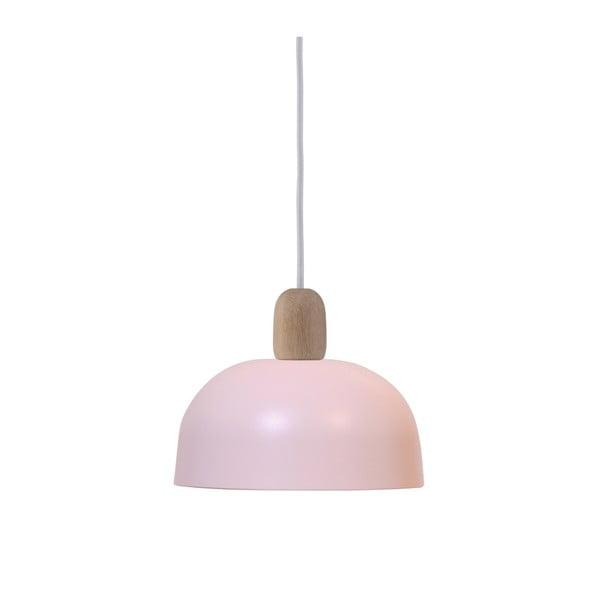 Ružové závesné svietidlo HARTÔ Nina