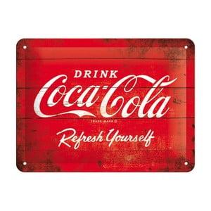 Plechová ceduľa Refresh Yourself
