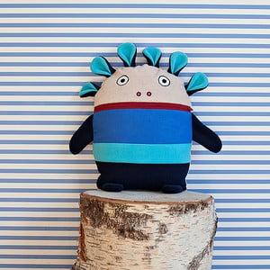 Modrý pyžamožrút Bartex, 35×30cm