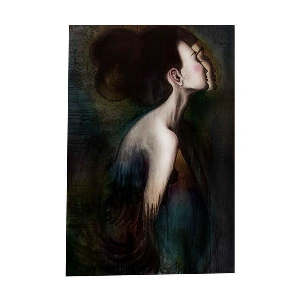 Autorský plagát od Lény Brauner Slečna Rakatamizau, 43x60 cm