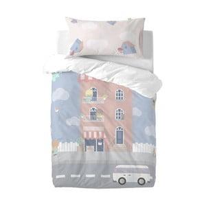 Detské obliečky z čistej bavlny Happynois Neighborhood, 100×120 cm