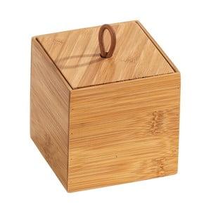 Bambusový box s vekom Wenko Terra, šírka 9 cm