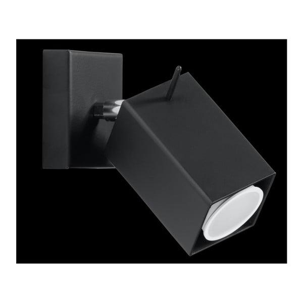 Čierne nástenné svetlo Nice Lamps Toscana