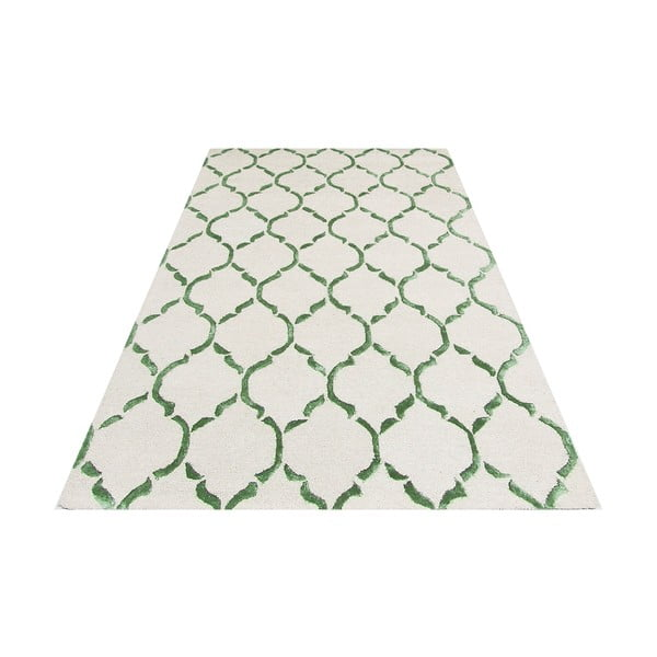 Koberec Chain Green, 153x244 cm