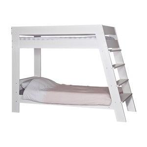 Dvojposchodová posteľ Julien White