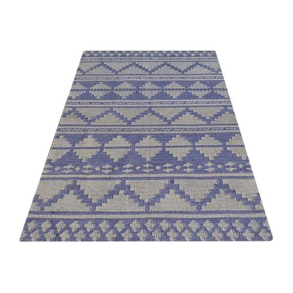 Vlnený koberec Kilim No. 710, 155x240 cm