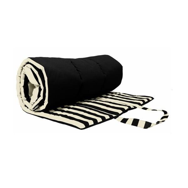 Skladacia deka na piknik alebo opaľovanie Lona, čierna