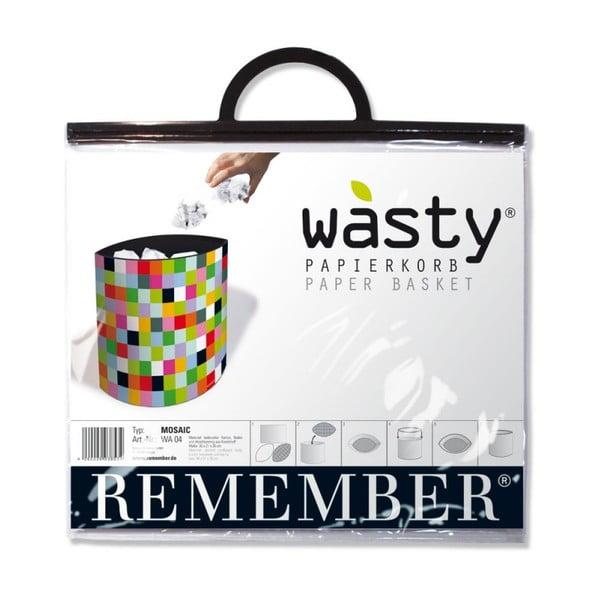Kôš na papier Remember Mosaic