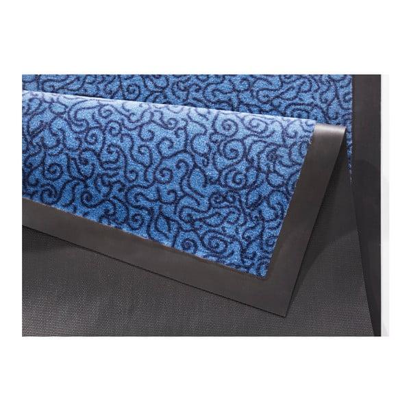 Modrá rohožka Zala Living Smart, 75×45cm