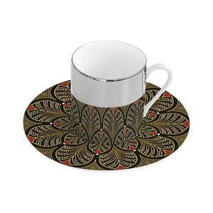 Porcelánový hrnček s tanierikom Santiago Pons Magic Fez