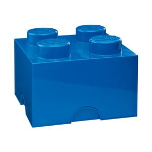 Modrá úložná kocka LEGO®
