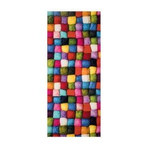 Vysokoodolný koberec Webtappeti Batuffoli, 58 x 80 cm
