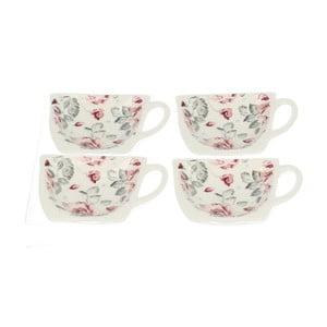 Sada 4 stojančekov na čajové vrecúška Duo Gift Růžička
