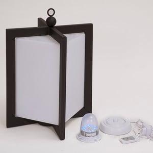 LED lampáš Ricaricabile Mahagony, 56 cm