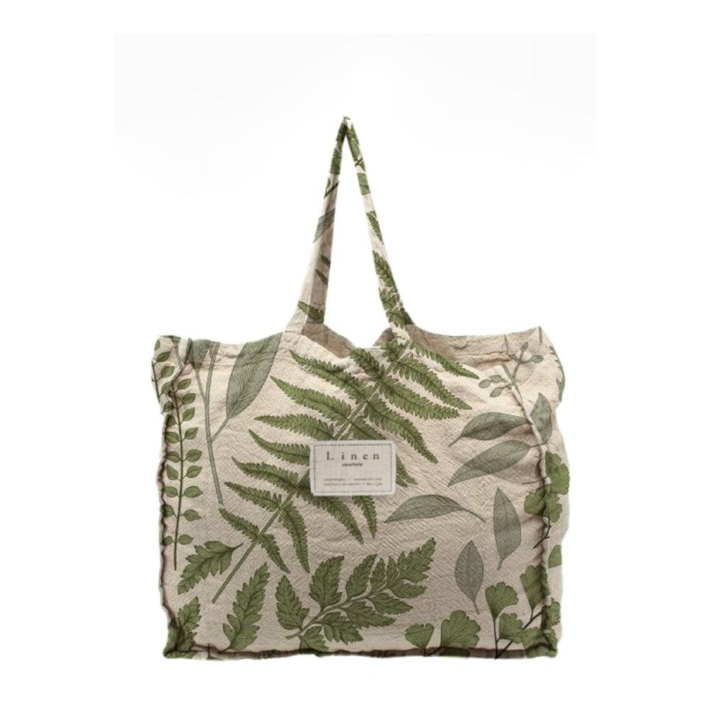 Látková taška Linen Couture Botanical, šírka 50 cm