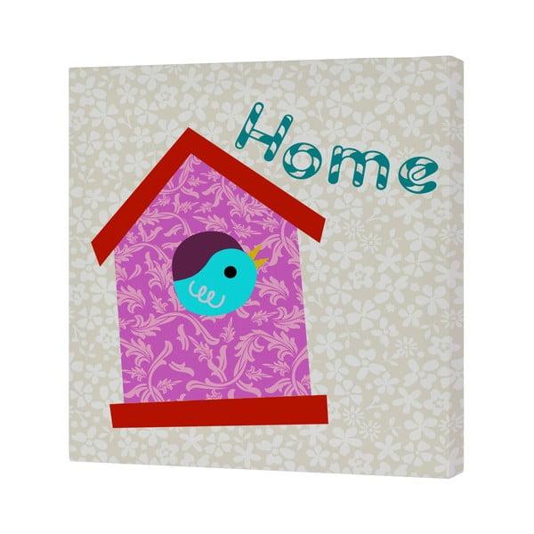 Nástenný obrázok Sweet Home Pink, 27x27 cm