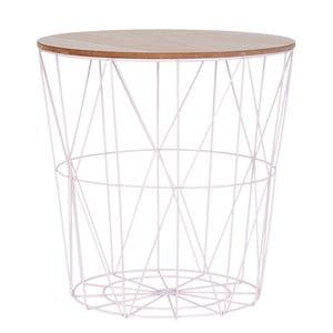 Odkladací stolík Clayre& Eef Basket Light