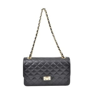 Čierna kožená kabelka Isabella Rhea Milady