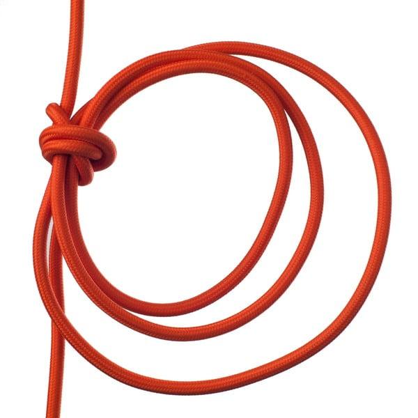 Oranžové svietidlo od Jakuba Velínského, 1,2 m