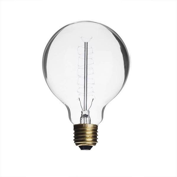 Žiarovka Edison Clear G80 / E27 / 40W
