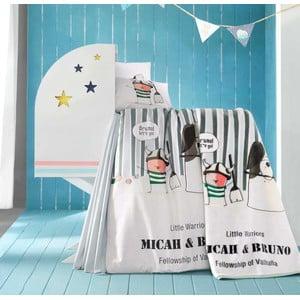 Set detských obliečok, plachty a deky Bruno, 100x150 cm