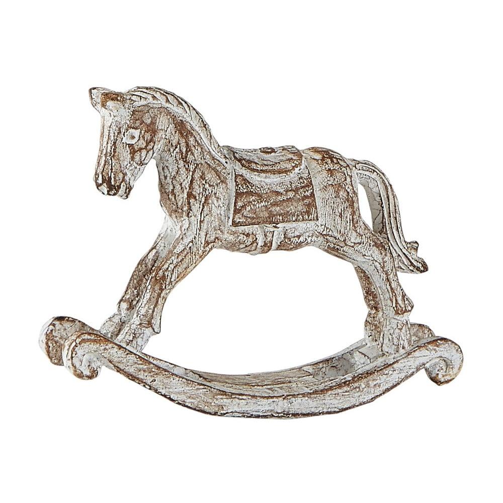Dekoratívny hojdací kôň KJ Collection, výška 8 cm