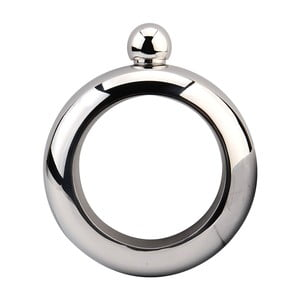 Ploskačka z nerezovej ocele v tvare náramku Gift Republic Bracelet, 100 ml