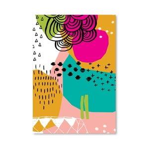 Plagát Geometric Patterns 2, 30x42 cm