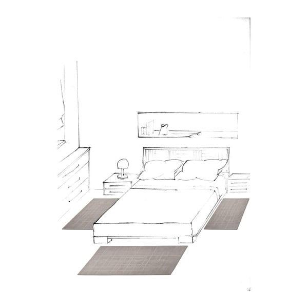 Koberec Stret Grey, 170x240 cm