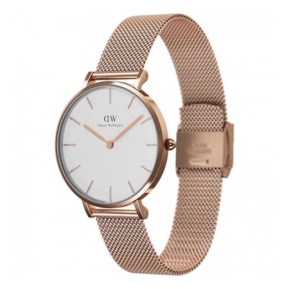 Dámske ružovozlaté hodinky Daniel Welington Melrose 6324fb7ffb