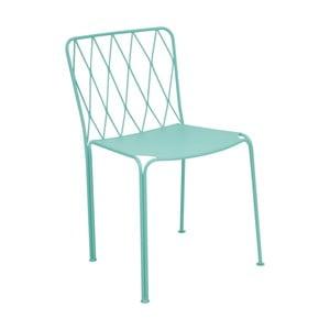 Modrá záhradná stolička Fermob Kintbury