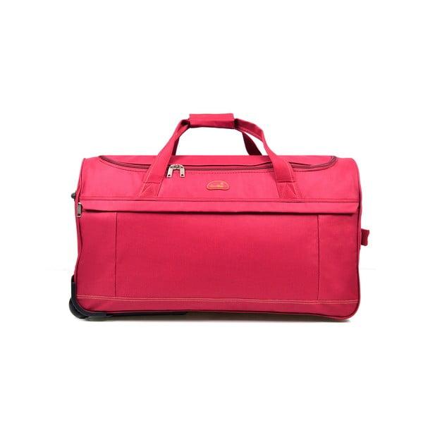 Cestovná taška na kolieskach Cadenas Red, 43 l