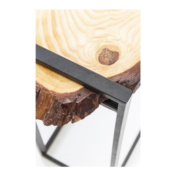 Odkladací stolík z dubového dreva Kare Design Merende