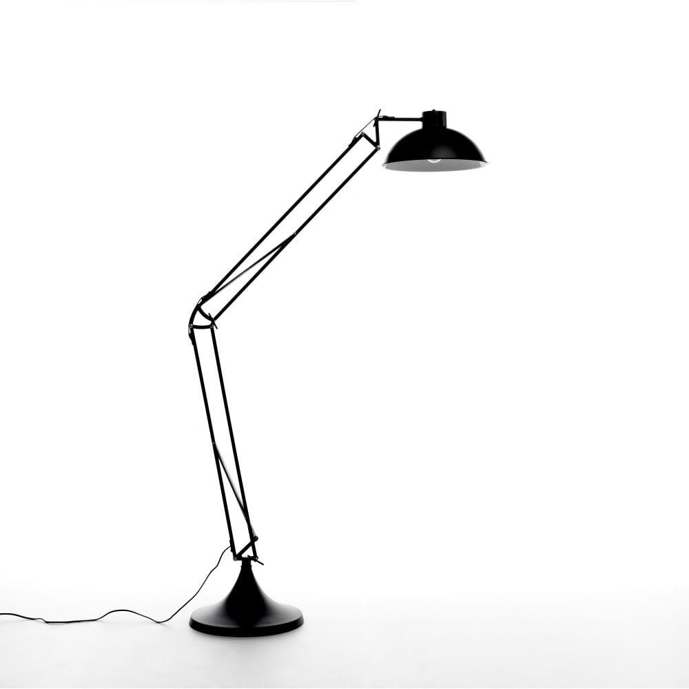 Čierna stojacia lampa Design Twist Isparta