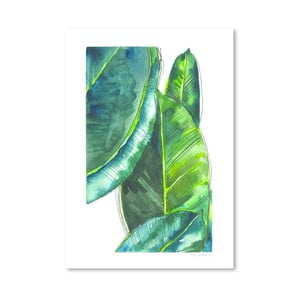 Plagát Banana Leaves, 30x42 cm