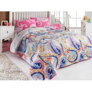 Sada prešívanej prikrývky na posteľ a dvoch vankúšov Single 117, 160x220 cm
