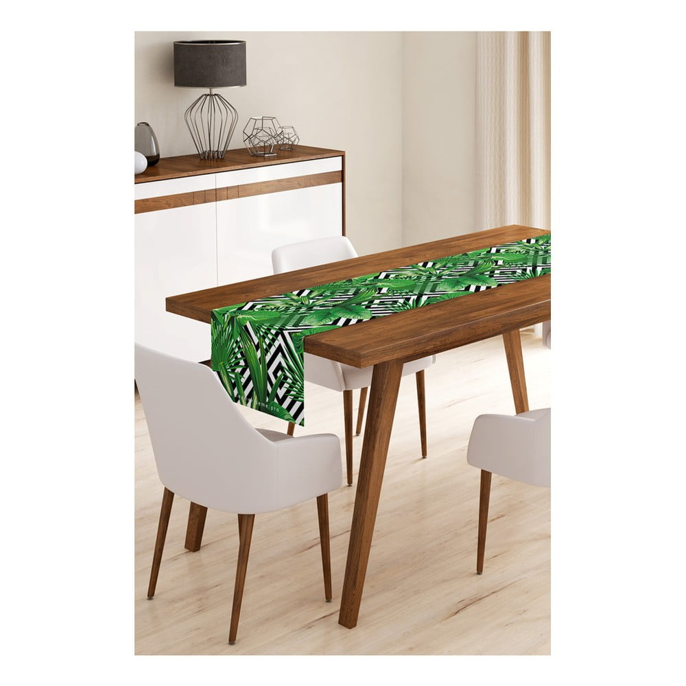 Behúň na stôl z mikrovlákna Minimalist Cushion Covers Jungle, 45 × 145 cm