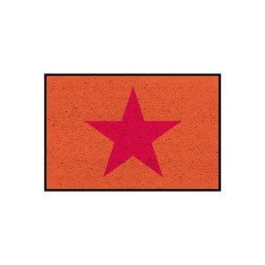 Rohožka/koberec Orange Star, 75x50 cm