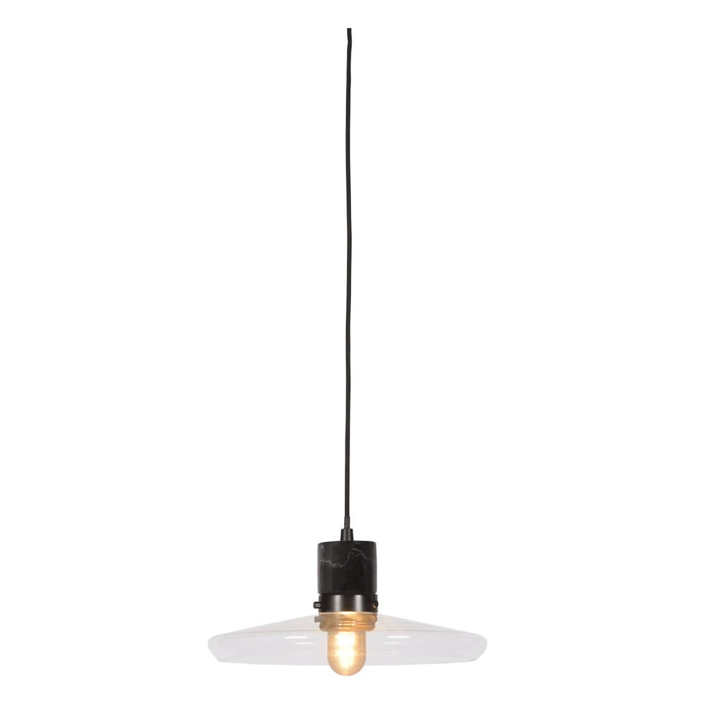 Čierne závesné svietidlo Citylights Paris, ⌀ 32 cm
