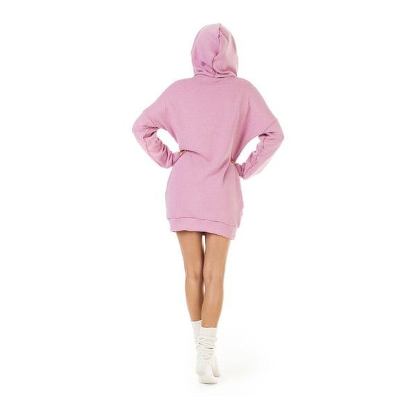 Mikina Signature Pink, veľkosť L
